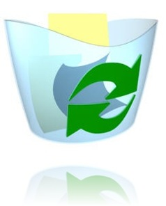 Restore deleted recycle bin icon from desktop