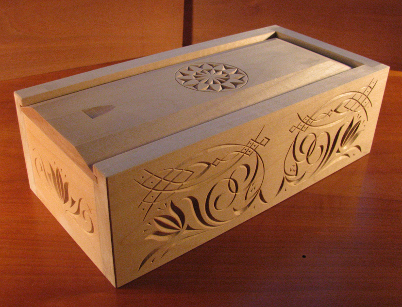 Wooden Box Sliding Lid Plans PDF Woodworking
