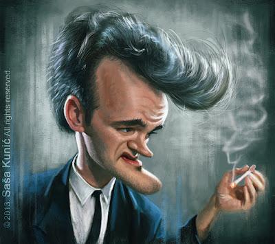 """""""Quentin Tarantino"""" por Sasa Kunic"""