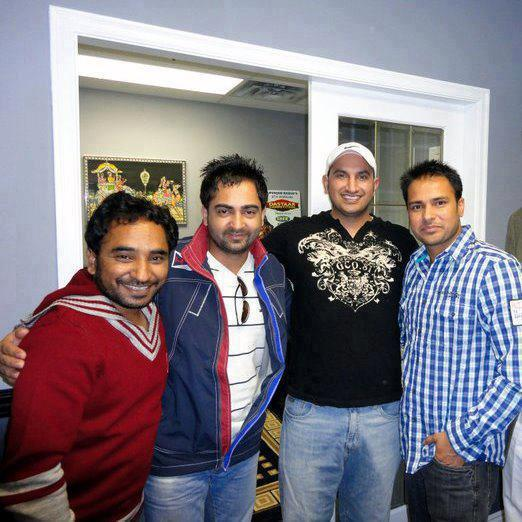 Sharry Mann, Rana Ranbir & Amrinder Gill - Latest Picture 2012
