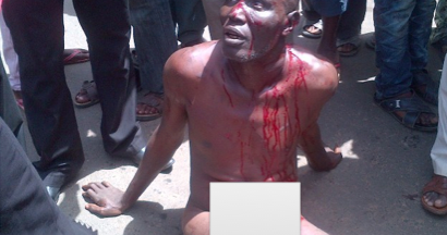 Welcome to ladun liadi 39 s blog photos robbery suspects almost beaten to death in ilorin by - Bureau de change near me ...