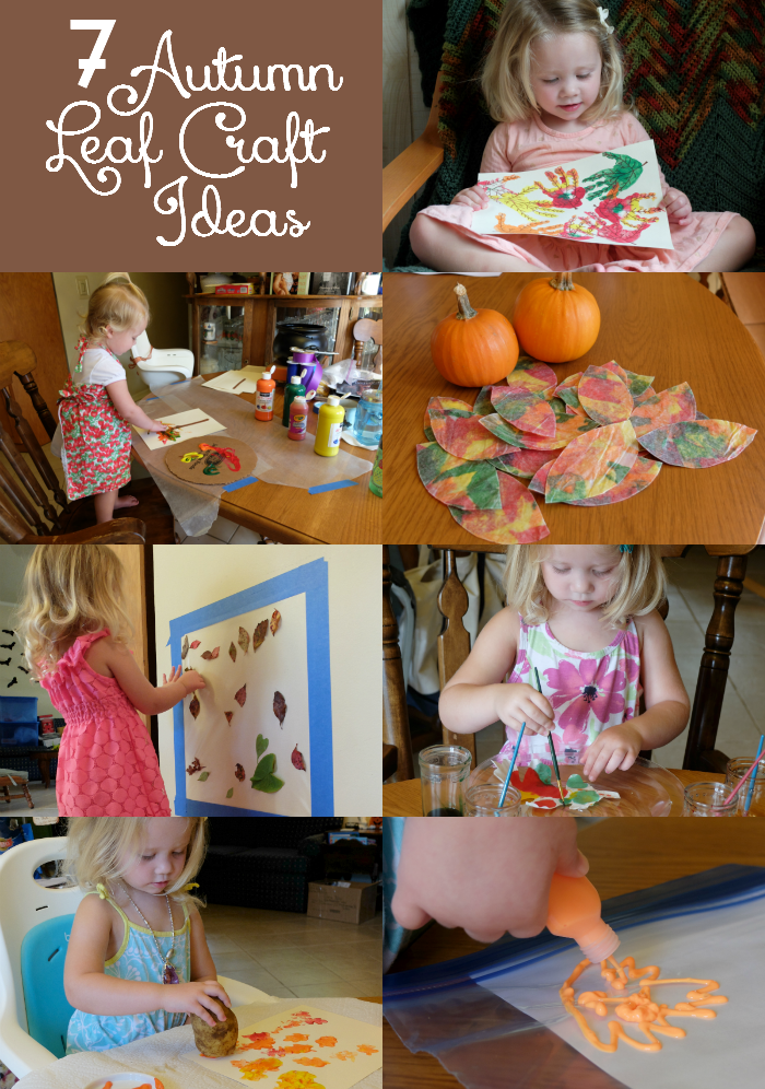 Sweet Turtle Soup: 7 Autumn Leaf Craft Ideas