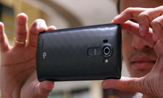 A câmera traseira do LG G4 faz fotos com 16 MP