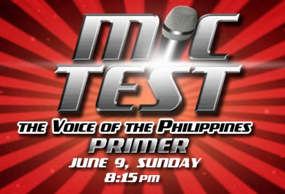 The Voice of the Philippines Primer - Mic Test