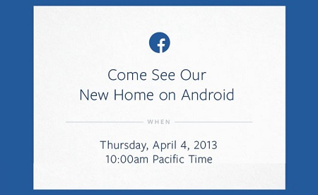 FACEBOOK NEW HOME