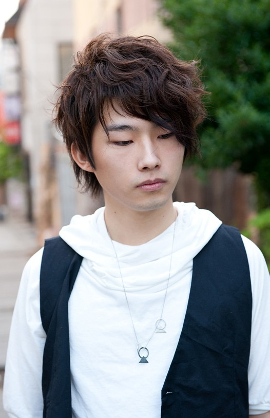 Curly Korean Hairstyle for Men 2013 The Best Pictures Collection About Hairstyles and Fashion