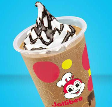 Chocolate Float of Jollibee menu