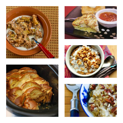 20 Delicious Recipes from Food Bloggers for Breakast in the Slow Cooker