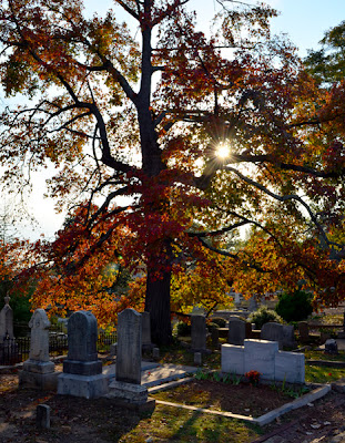 Historic Oakland Cemetery, at Sunset