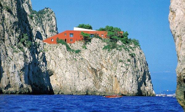 Casa Curzio Malaparte en Capri