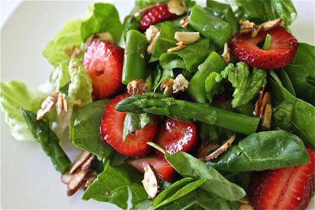 RECIPE: Strawberry Asparagus Salad   MADE