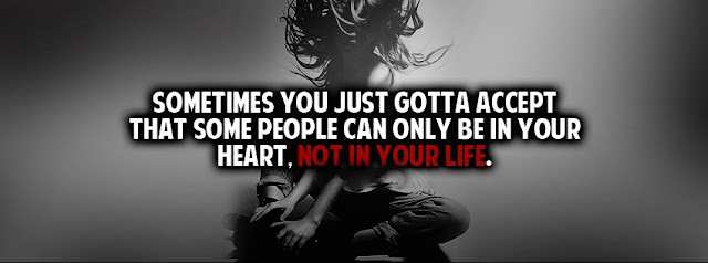 facebook timeline cover Quotes Not In Your Life