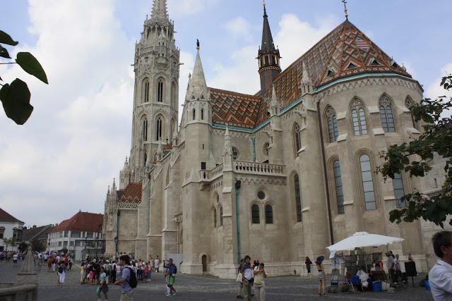 Iglesia de San Matias en Budapest