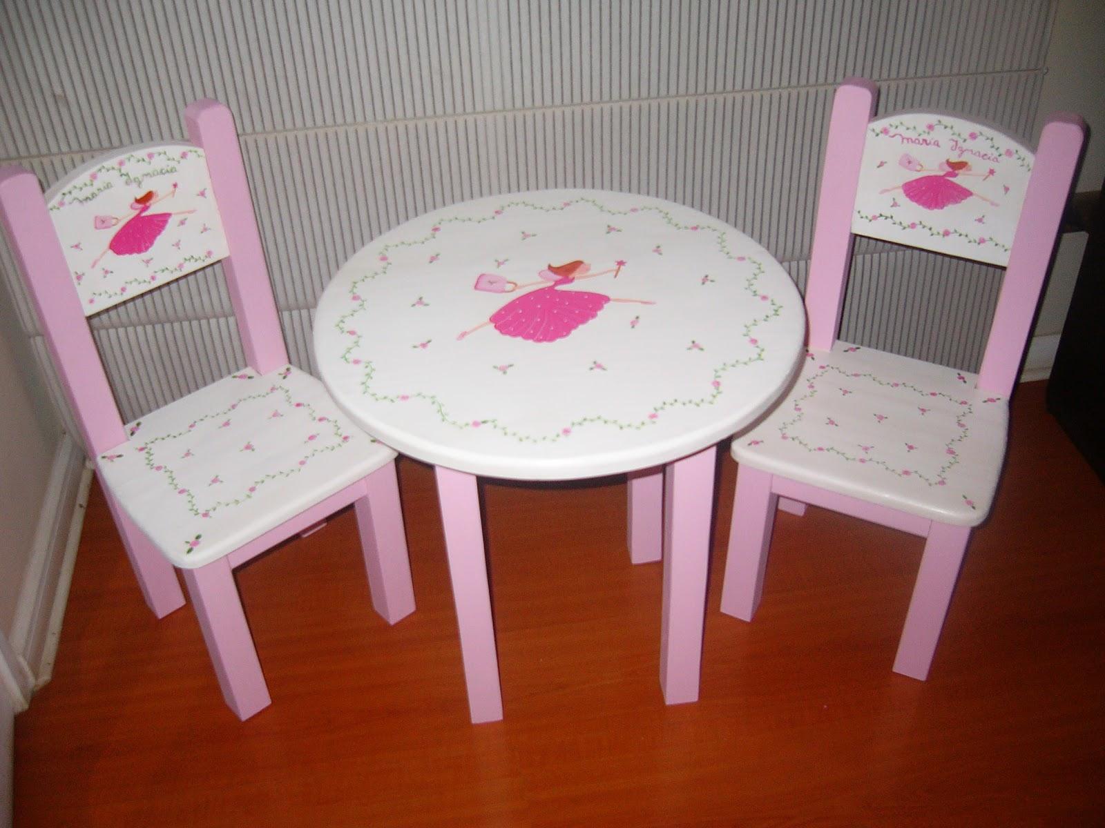 Mesas y sillas de madera infantiles imagui - Mesas infantiles madera ...