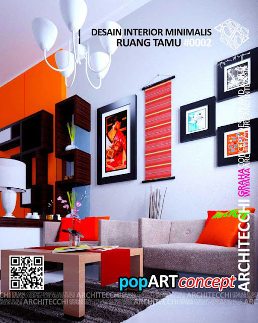 Arsitek Interior Ruang Tamu Minimalis