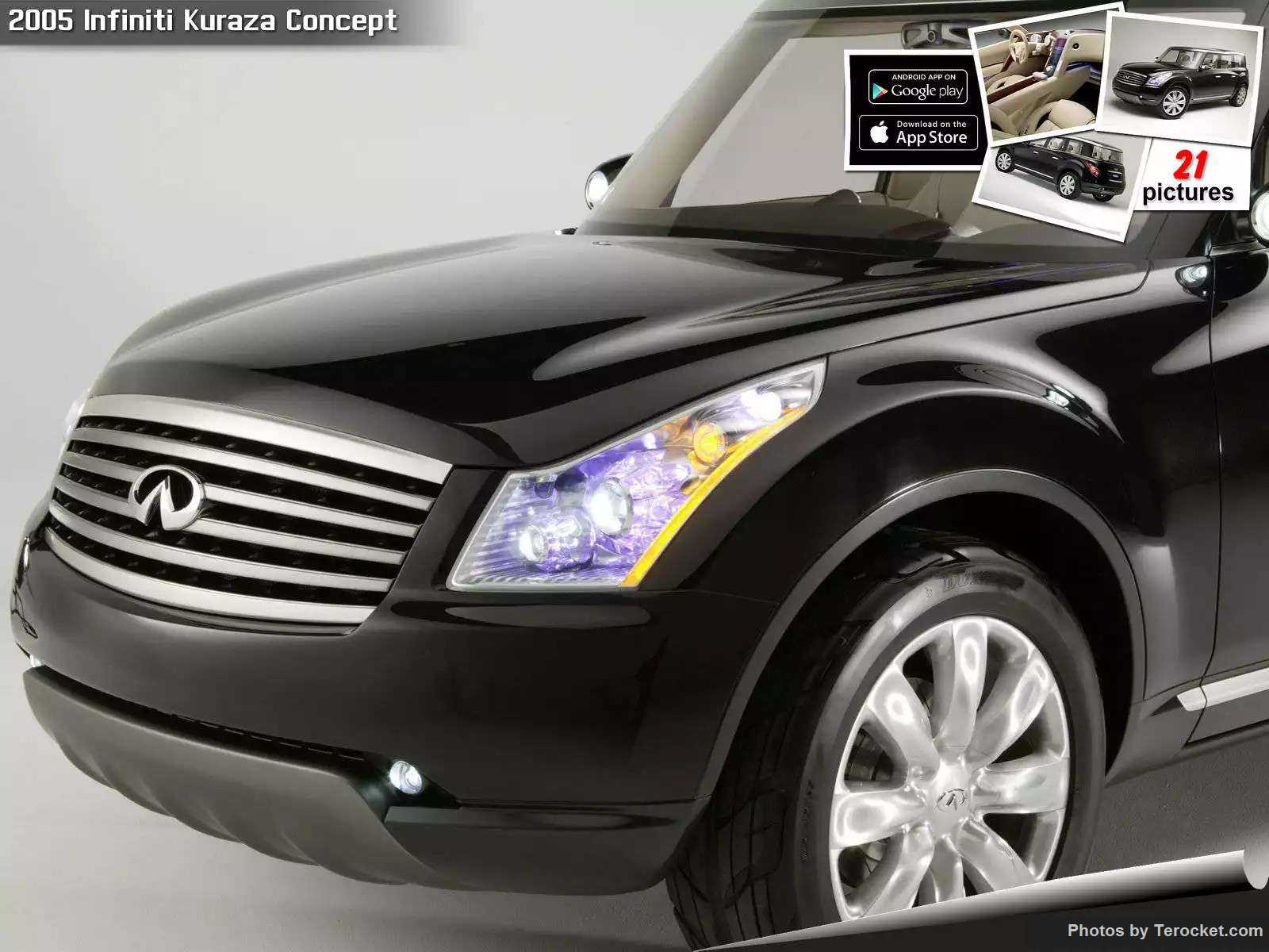 Hình ảnh xe ô tô Infiniti Kuraza Concept 2005 & nội ngoại thất
