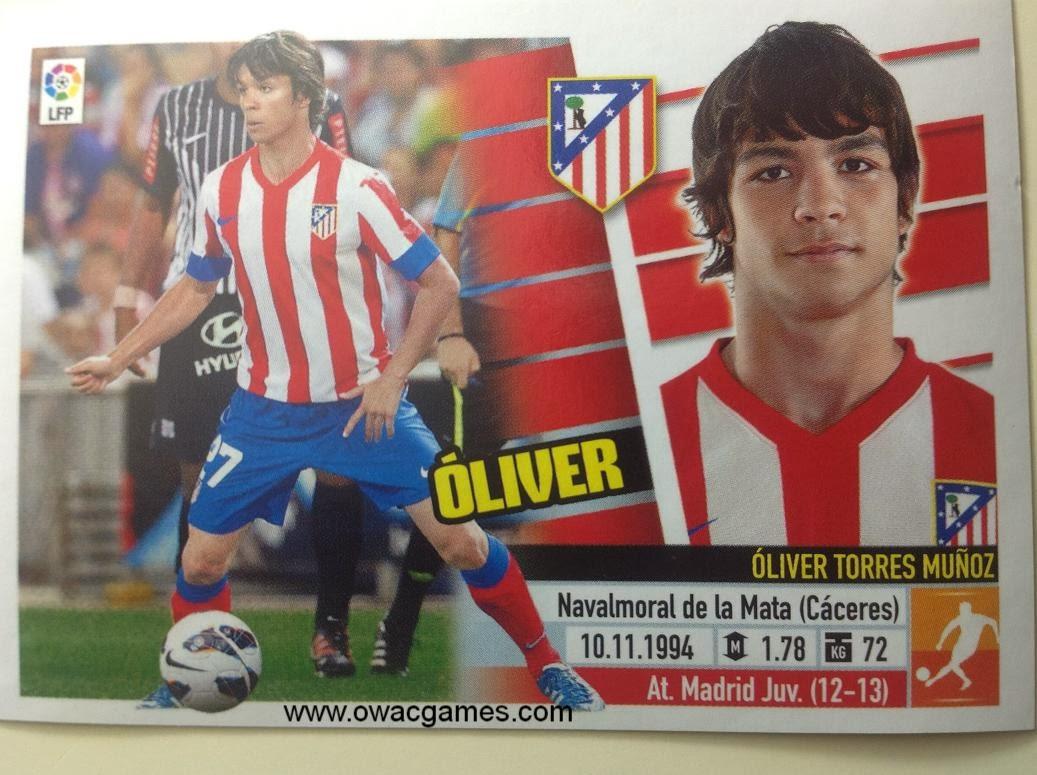 Liga ESTE 2013-14 Atl. de Madrid - 11B Óliver