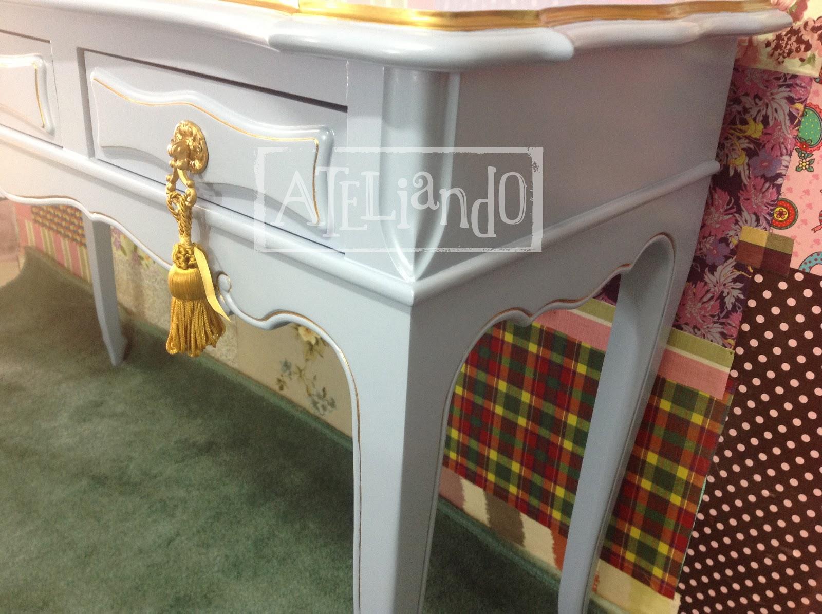 Ateliando Customização de móveis antigos: Aparador Lolita #996D32 1600x1195