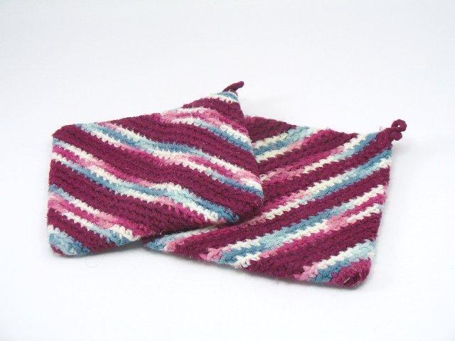 Rebecca Kelley Sews Crochet Pot Holder Tutorial Left Handed