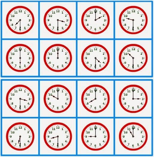 kindergarten telling time worksheets