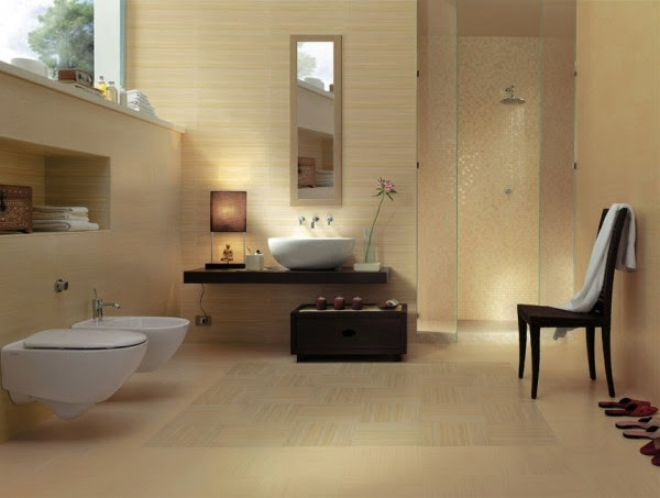 9 صور تصاميم حمامات عصرية   ديكورات حمامات كبيرة و ضيقة   الوان و نقوش حوائط حمامات مودرت