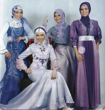 Fatimah Azahro Trend Evening Wear Muslimah