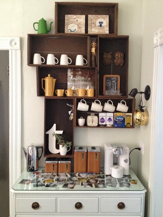 Tr s em casa ideias para organizar um cantinho do caf em - Tazze colazione ikea ...