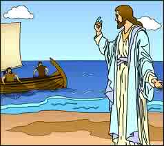 IDEAS UNLIMITED: JESUS CALLS HIS DISCIPLES - Interactive Bible Story