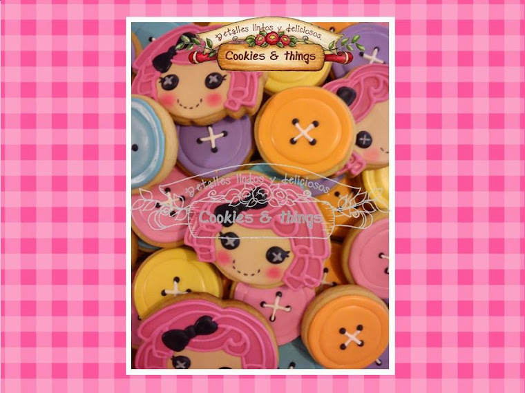 lalaloopsy decorated cookies