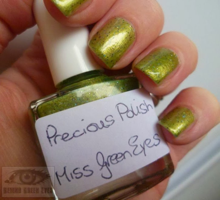 Behind Green Eyes: NOTD featuring Ireland\'s first Indie Nail Polish ...