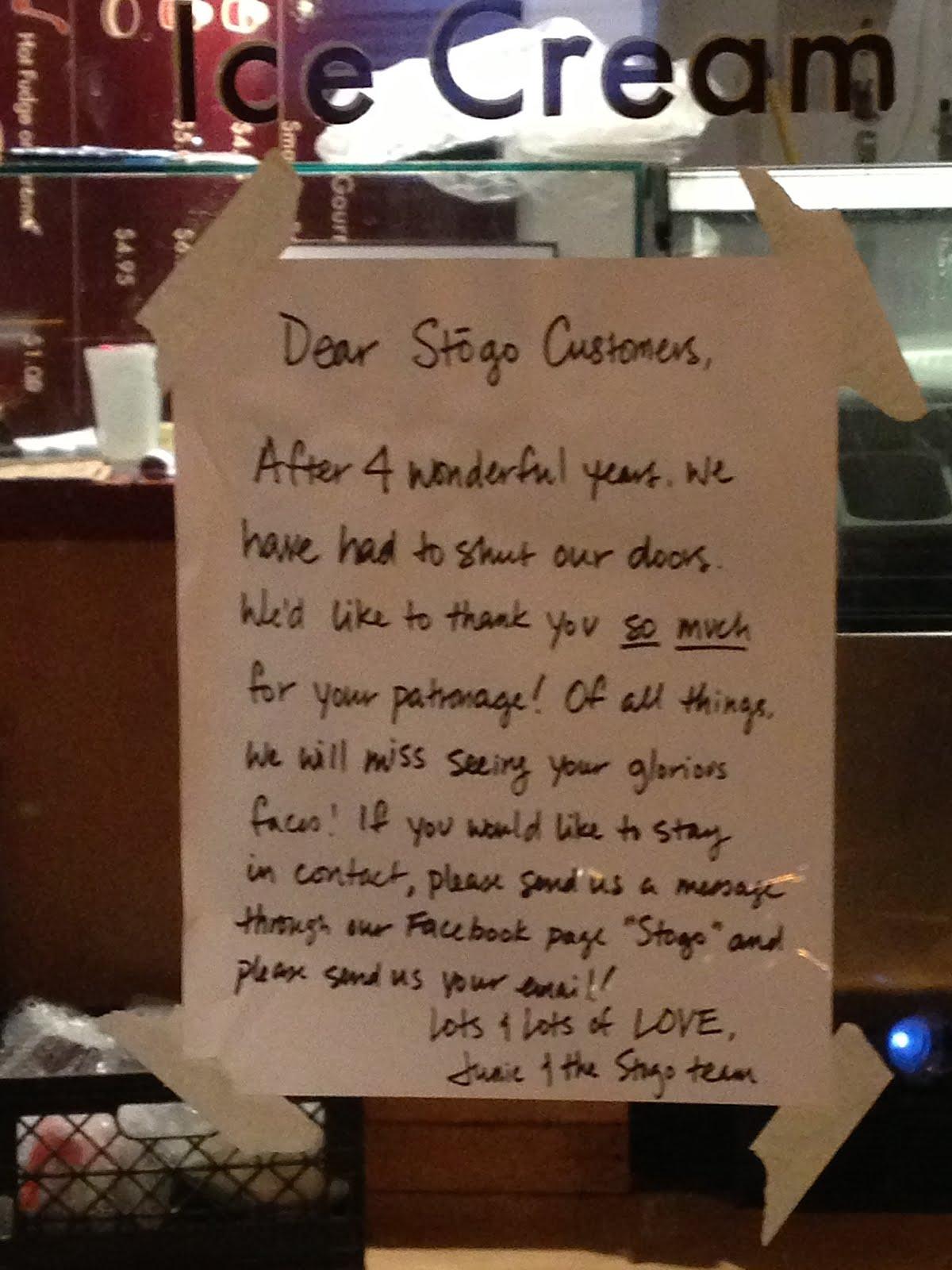 EV Grieve Stogo says goodbye – Goodbye Note