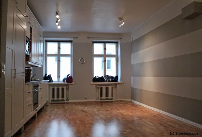 Sisustussoppa Stailausprojekti kohteena keittiö