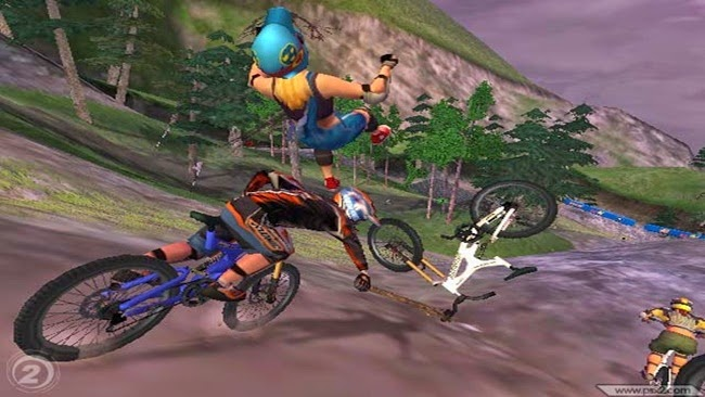 Downhill Domination PS2 ISO Download