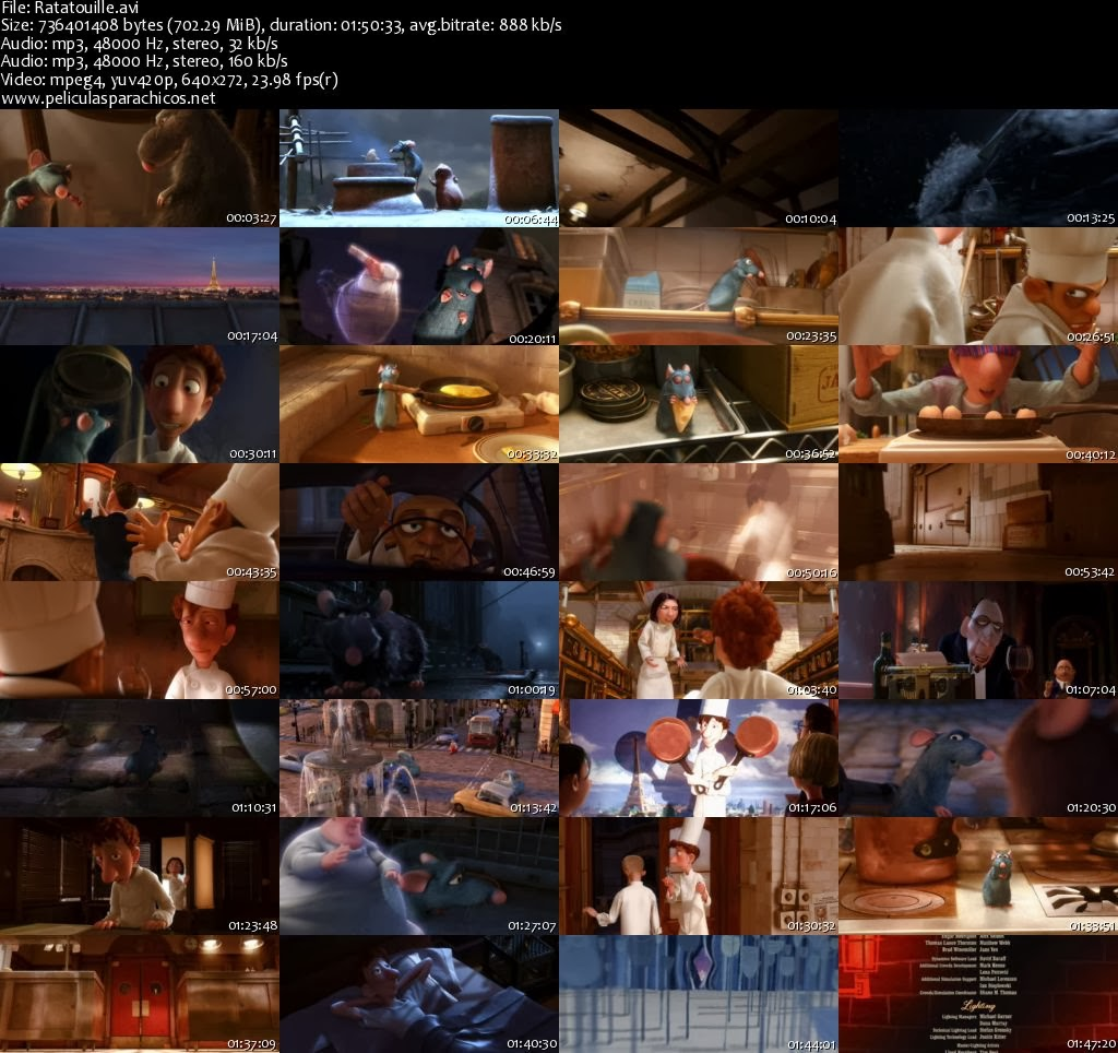 SCREENSHOTSRatatouille Dvd Menu