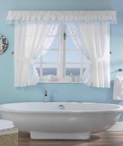 How to Choosing Curtains and Bathroom Accessories ~ Curtains