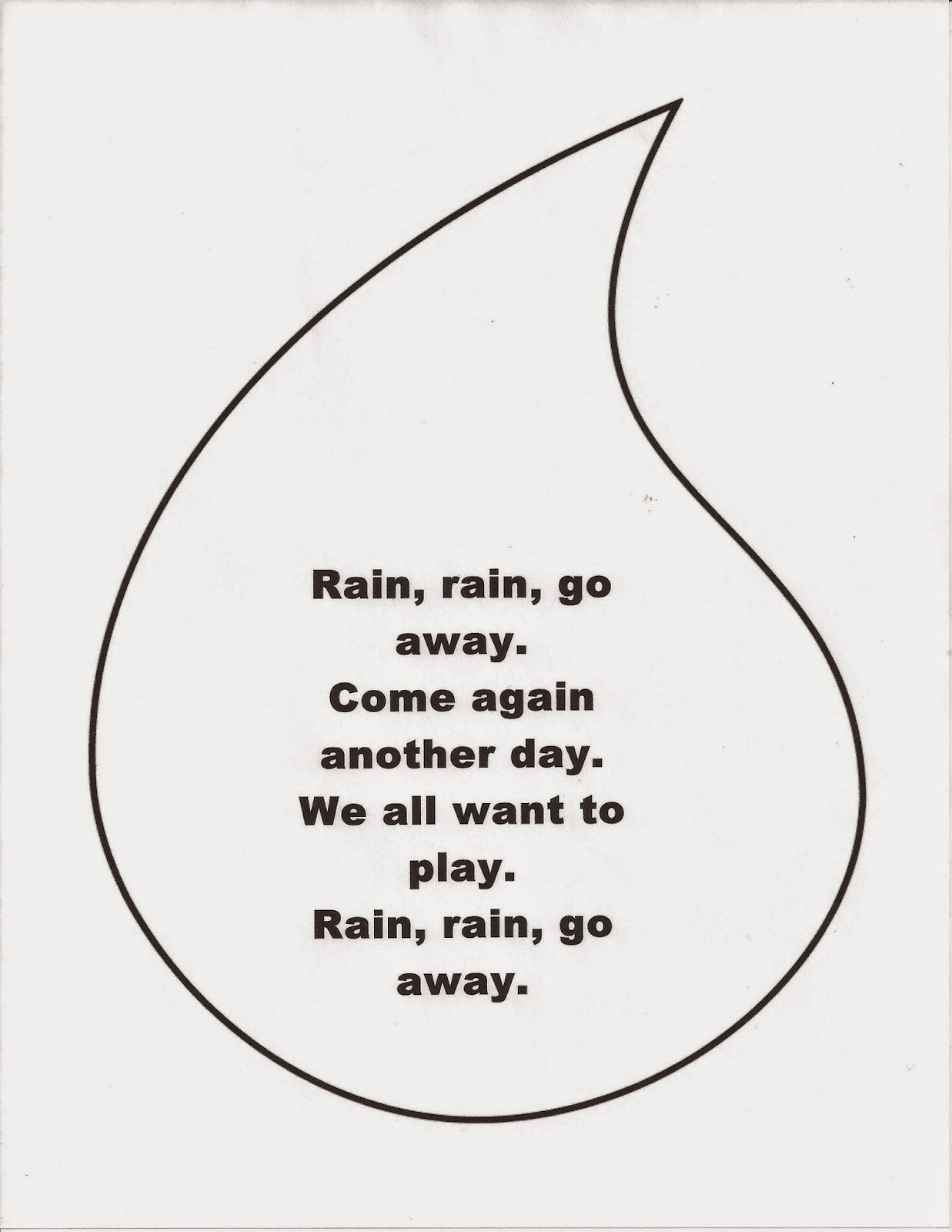 Para Rain Go Away Worksheet Free Worksheets The Came Down For likewise Word Problem   Rain  Rain  Go Away   Grade 1    Free Printable Tests moreover Rain  Rain  Go Away   Super Simple Songs   YouTube besides  furthermore Rain Rain Go Away Subtraction   For my kinder cl   Pinterest in addition Song   Rain rain go away   ESL worksheet by procei furthermore  additionally good way to do number order Rain  Rain Go Away  We're Counting to 20 likewise Make a Rain Gauge   Worksheets   Printables   Scholastic   Parents further Crafts for Kids' Minds  Pre Nursery Rhyme Craft besides SMART Exchange   USA   Rain Rain Go Away with Sole in addition Clroom Clics  Rain Rain Go Away  Lyric Sheet   ELF Learning also Rain Rain Go Away   ESL worksheet by manonski  f additionally Rain Worksheets Rain Rain Go Away Rainforest Worksheets For as well Rain  rain  go away    ESL worksheet by alien boy also Rain  Rain  Go Away  Close Reading Questions Worksheet. on rain go away worksheet