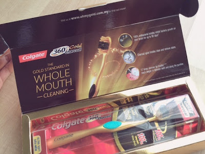 Ads Review. Colgate 360° Gold Charcoal Toothbrush