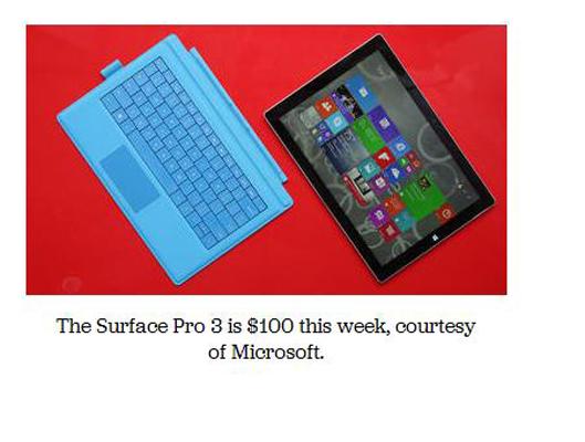 Microsoft Beri Diskon Rp.1 Jutaan Untuk Pembelian Surface Pro 3