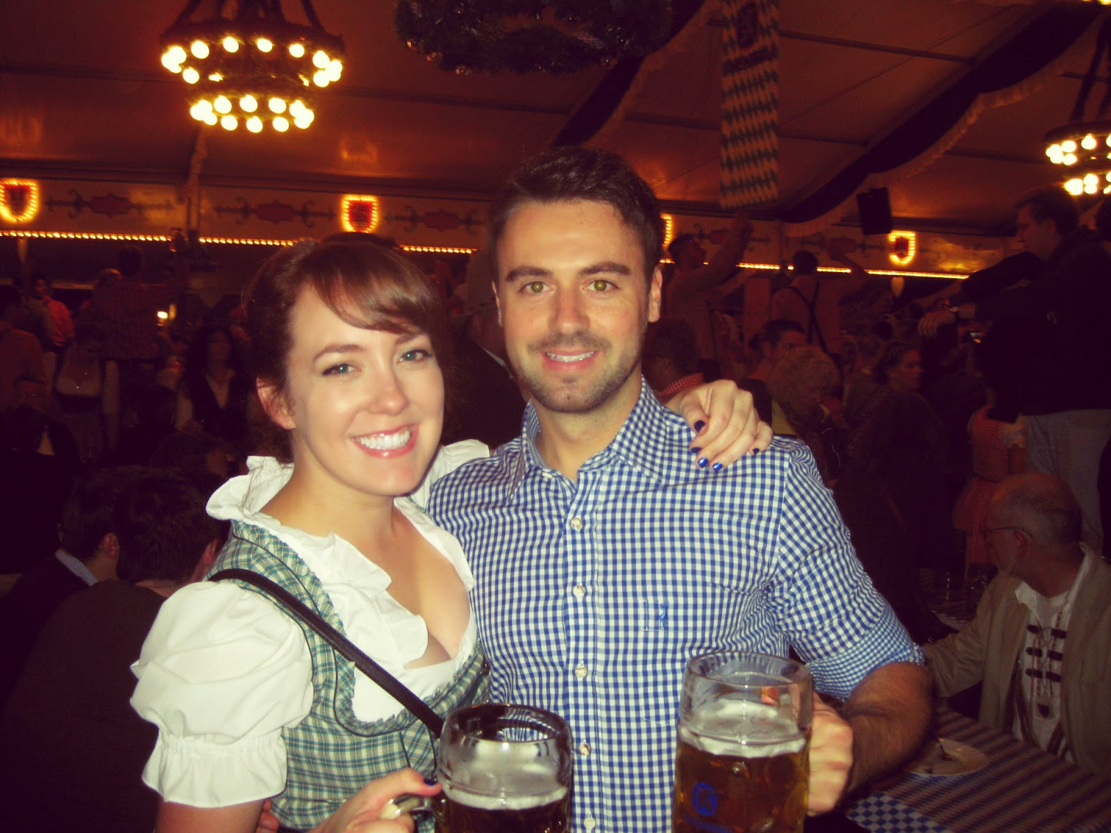 Wearing a Dirndl at the Lüneburg Oktoberfest