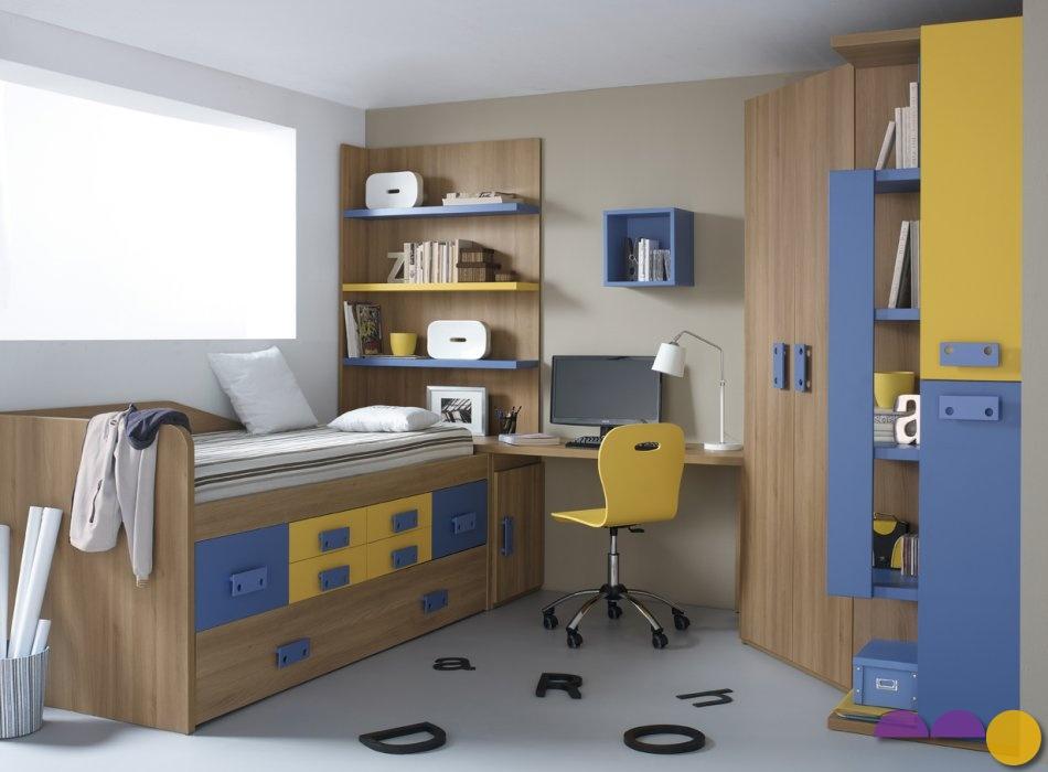 Muebles la liberal c mo amueblar una habitaci n juvenil - Amueblar habitacion juvenil ...