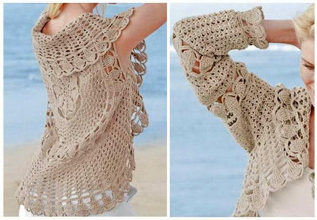 Crochet Sweaters: Crochet Cardigan For Women - Circular ...