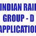 Trackman Vacancy 2013, Helper Point Man, Group-D Indian Railways