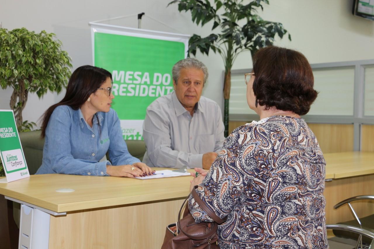 Presidente da Sicredi Noroeste MT e Acre acompanha de perto as demandas de associados em Pontes e L