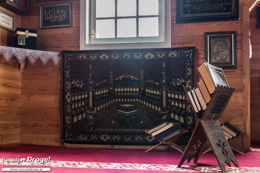 Meczet w Bohonikach na Szlaku Tatarskim