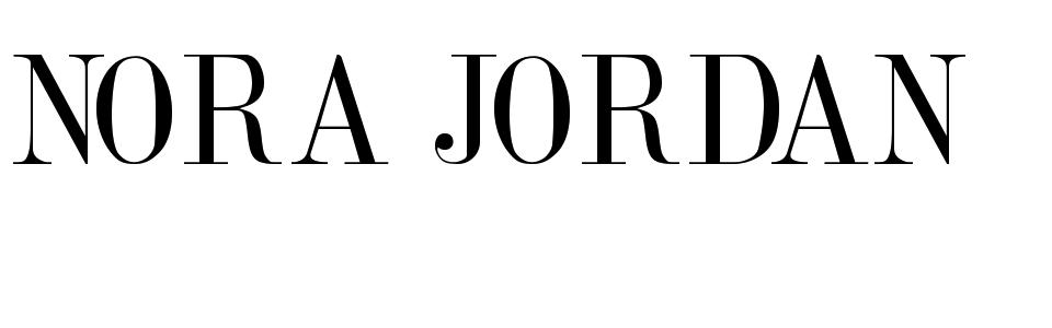 Nora Jordan