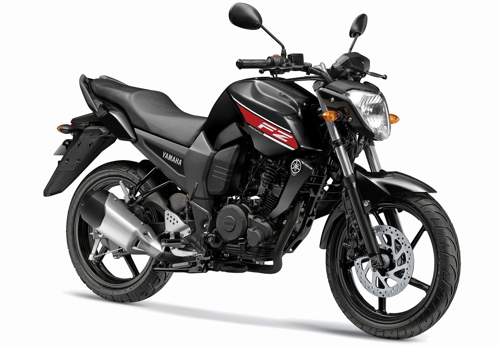 Yamaha FZ16 color absolute black