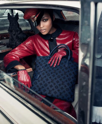 >Nyasha Matonhodze : New Face of Louis Vuitton