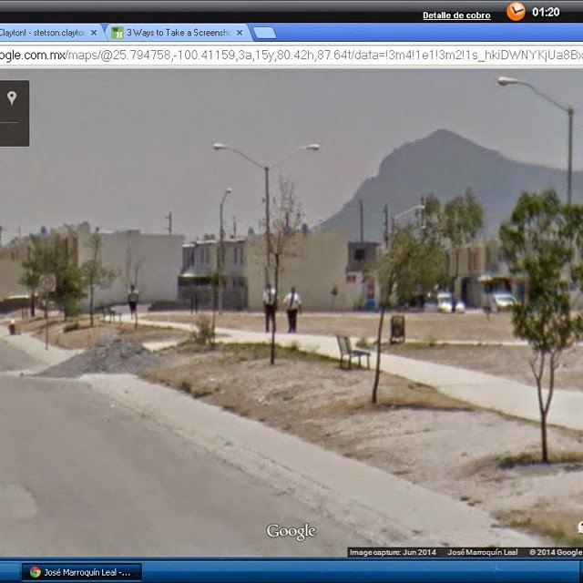 Caught on the Streets of Monterrey