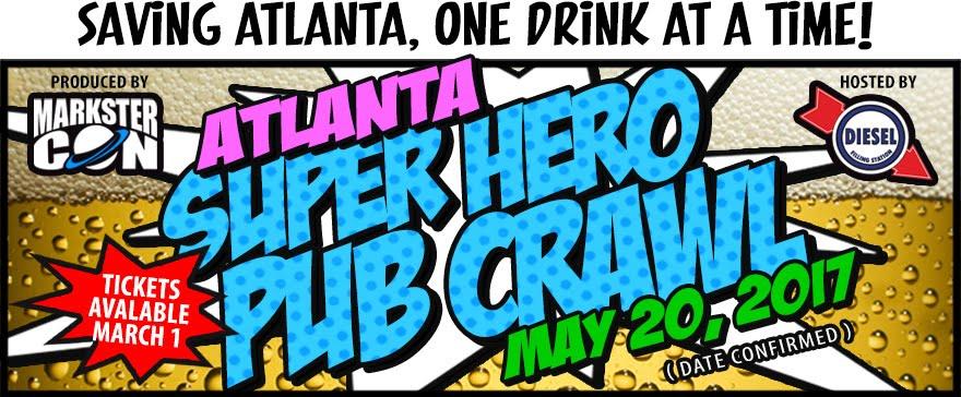 Atlanta's Super Hero Pub Crawl