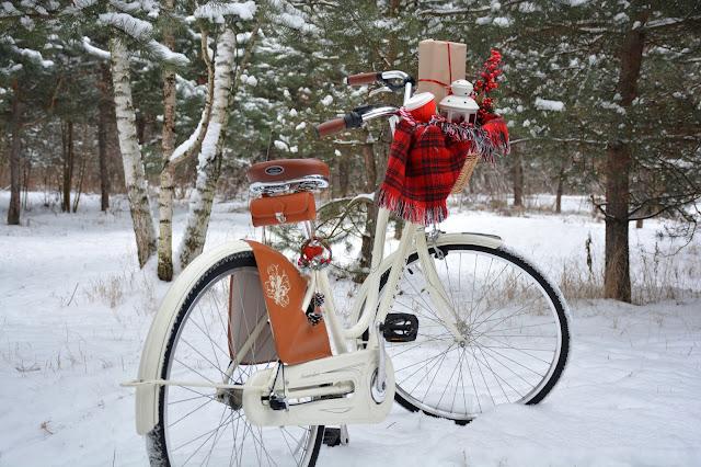 на работу на велосипеде зимой